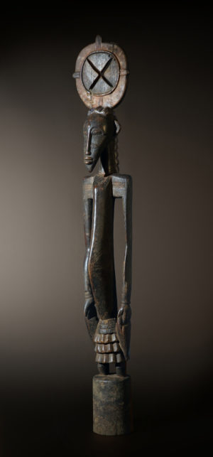 A large, male Senufo sculpture