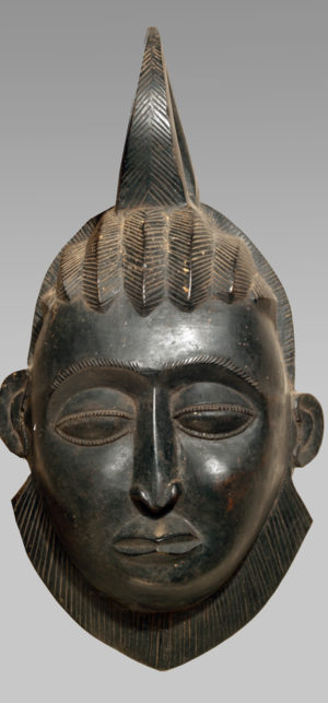 A Yaure regalia mask