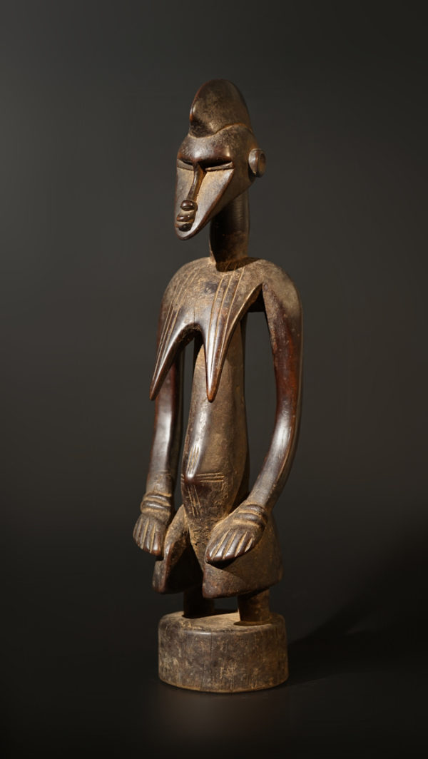 A female Senufo Guardian sculpture