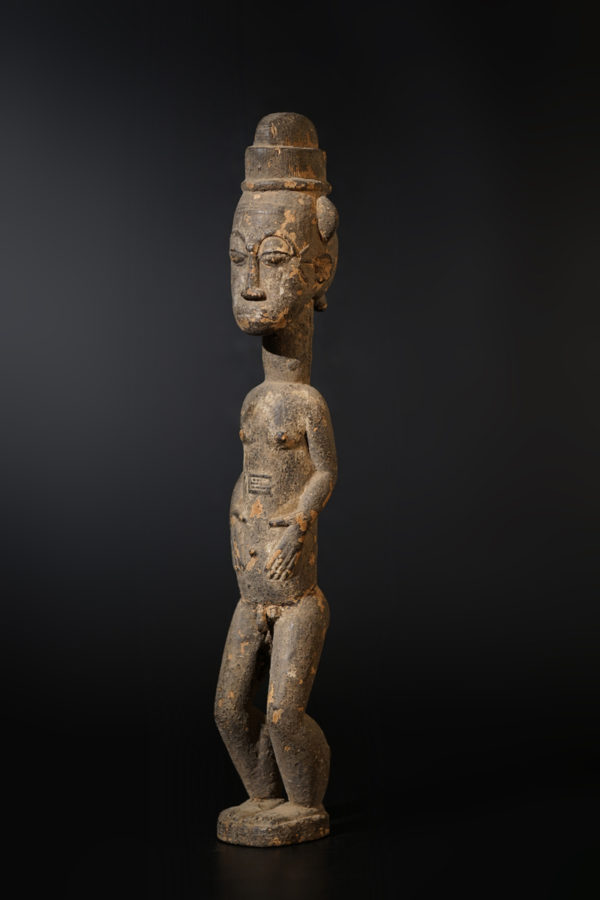 A male Baule sculpture